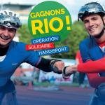 La CFDT soutient l'équipe de France Handisport pour les Jeux de Rio 2016